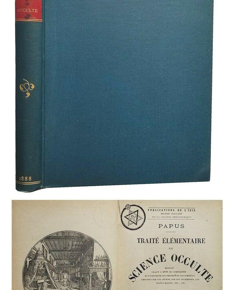Traité élémentaire de science occulte 1888