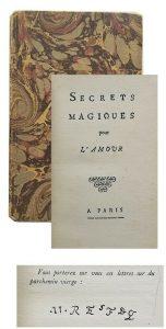 PAULMY Secrets magiques pour l'amour Grimoire